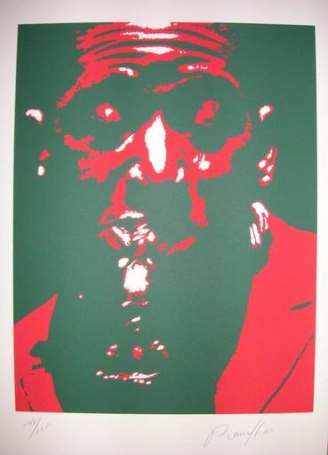 "Bernard RANCILLAC - Grabado - 2 LITHOS ""Portraits"""