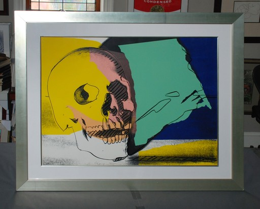 Andy WARHOL - Stampa-Multiplo - Skulls