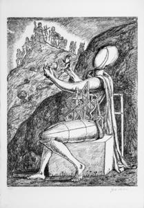 乔治•德•基里科 - 版画 - Giove, 1969