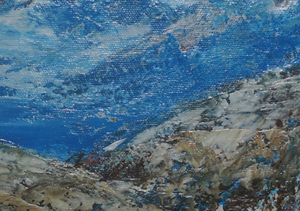 Kyna DE SCHOUEL - Peinture - Le Mistral