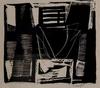 Jan COBBAERT - Estampe-Multiple - Bateaux près du pont-levis, 1955