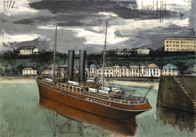 Bernard BUFFET - Peinture - Granville