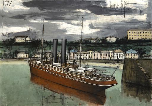 Bernard BUFFET - Painting - Granville