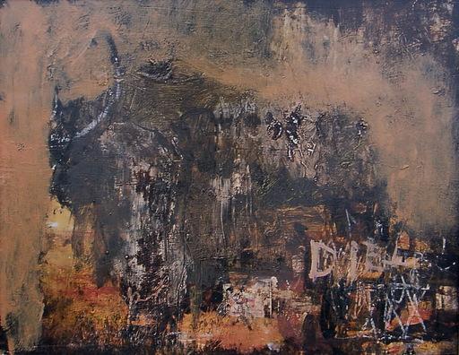 Vicente PREGO - Gemälde - BUFALO