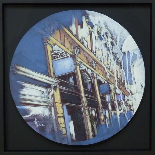 Anne Christine WELLENSTEIN - Peinture - Galerie bleue