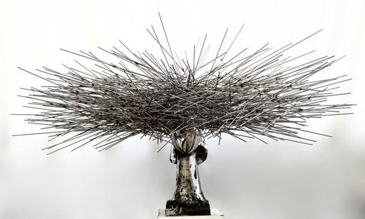 Manolo VALDÉS - Sculpture-Volume - Clio Plateada