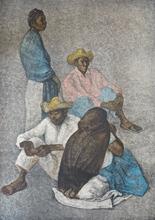 Francisco ZUÑIGA - Grabado - Campesinos