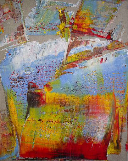 Harry James MOODY - Peinture - Linen With Some Abstract No.553