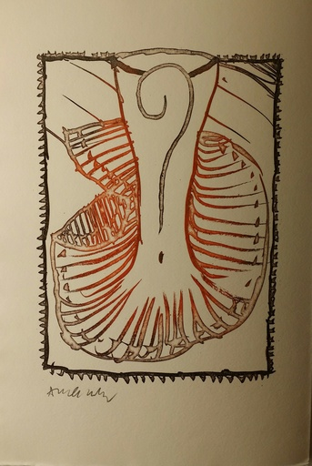皮埃尔·阿列钦斯基 - 版画 - Ces  robes qui  m evoquaient VENISE