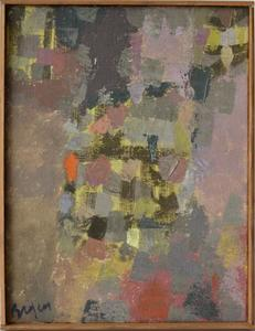 Camille BRYEN - Painting - Abstract Composition