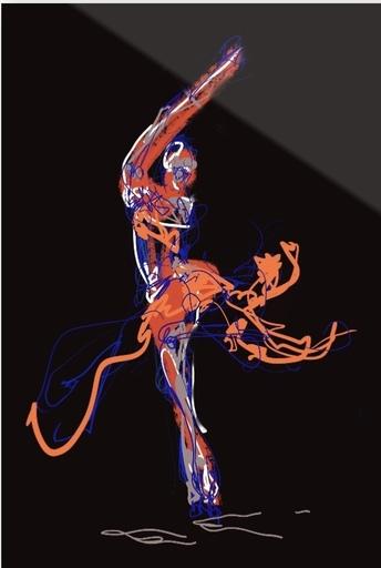 Nicole LEIDENFROST - Druckgrafik-Multiple - Dance Studies Nr 6