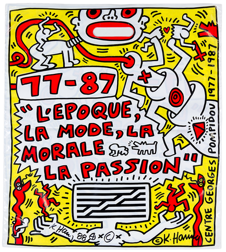 Keith HARING - Estampe-Multiple - L'Epoque, la Mode, la Morale, la Passion