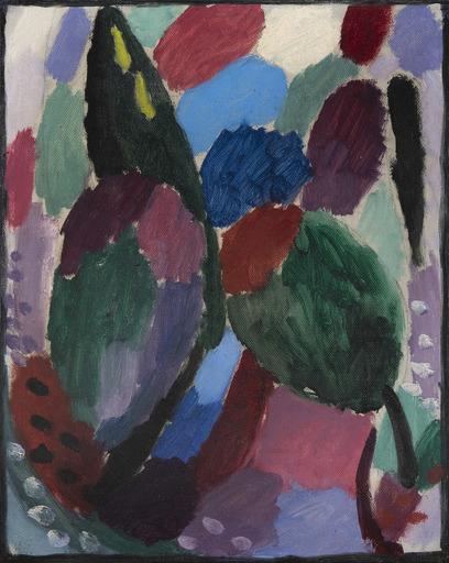 Alexej VON JAWLENSKY - Gemälde - Variation