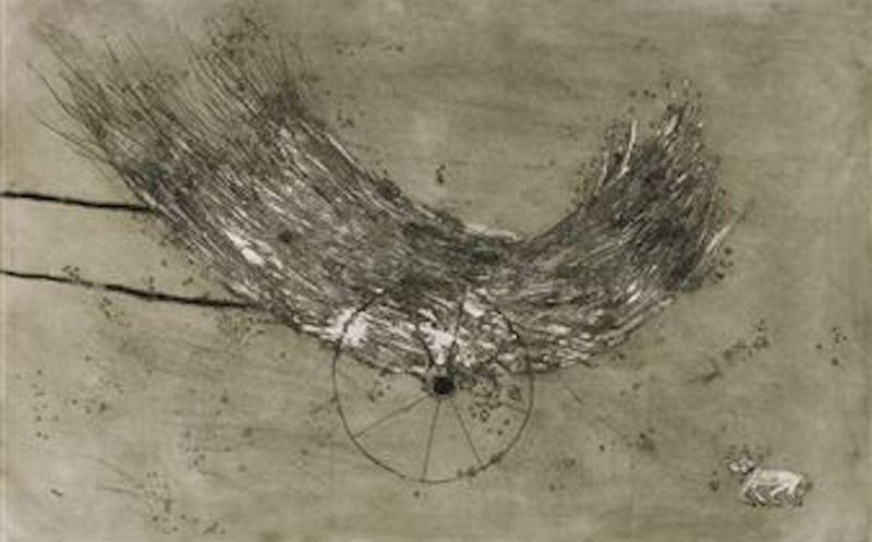 Miquel BARCELO - Print-Multiple - La Charette de foin
