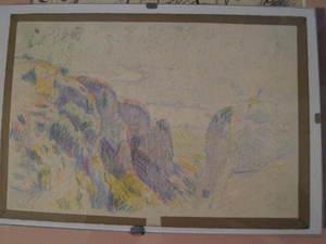 Henri PAILLER, paysage de CREUSE