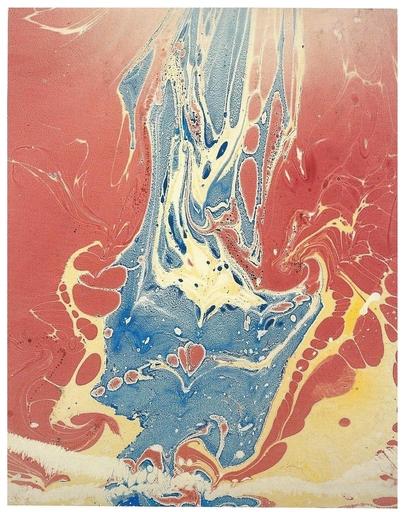 Philip TAAFFE - Dessin-Aquarelle - Cascade