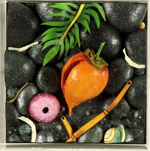 Piero GILARDI - Sculpture-Volume - Cocco sulla spiaggia nera