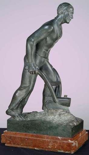 Cyril ZATLOUKAL - Skulptur Volumen - Plowing the Field