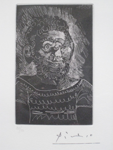 Pablo PICASSO - Print-Multiple - MARIN CYCLOPE 1970