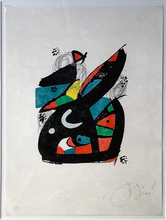 Joan MIRO (1893-1983) - La Melodie Acide Number 13