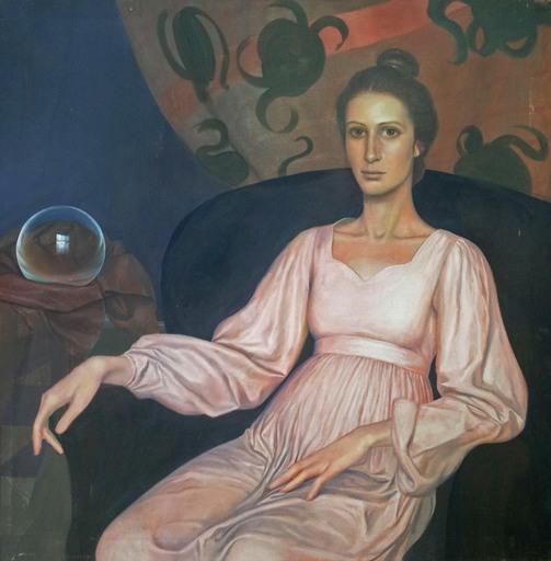 Michael FUCHS - Gemälde - Portrait of Suzanne Steinbacher