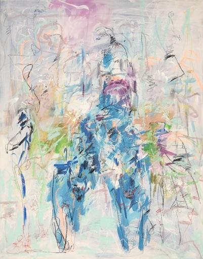 Nicole LEIDENFROST - Gemälde - Hunderennen