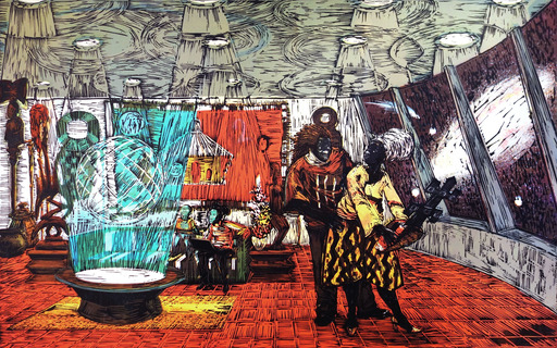 Kerry James MARSHALL - Print-Multiple - Keeping the Culture