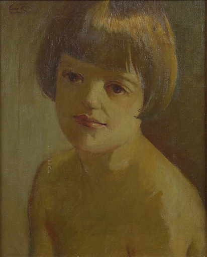 Eugeniusz ZAK - Pintura - Portrait of the Artist's Son