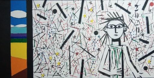 Harry BARTLETT FENNEY - Painting - glimpse #5 (2020)