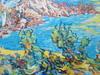 Ruben GROSMAN - Peinture - Les rochers rouges.