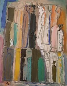 Mario SIRONI - Peinture - Idoli
