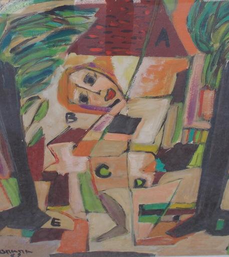 Olga ORANA - Painting - ABCD