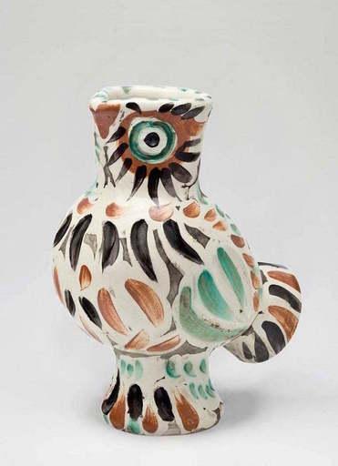 Pablo PICASSO - Cerámica - Wood-Owl, (A.R.602)