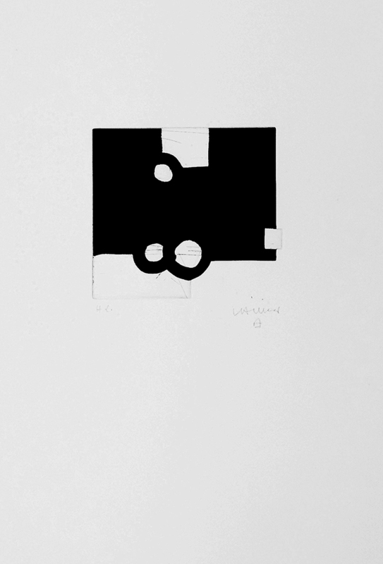 Eduardo CHILLIDA - Estampe-Multiple - Bikaina XIV