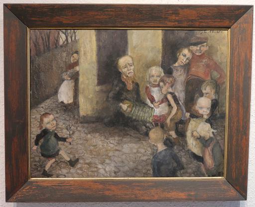 Elsa HAENSGEN-DINGKUHN - Painting - Hof