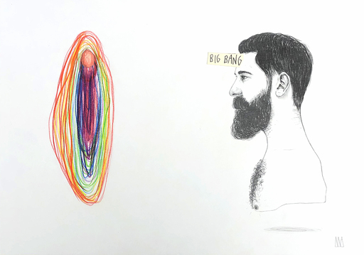 Mateo ANDREA - Dessin-Aquarelle - Bigbang