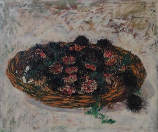 Raffaele SPIZZICO - Painting - Ricci di mare