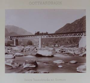 Adolphe BRAUN - Fotografie - Gotthardbahn