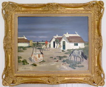 Yves BRAYER - Peinture - La Camargue