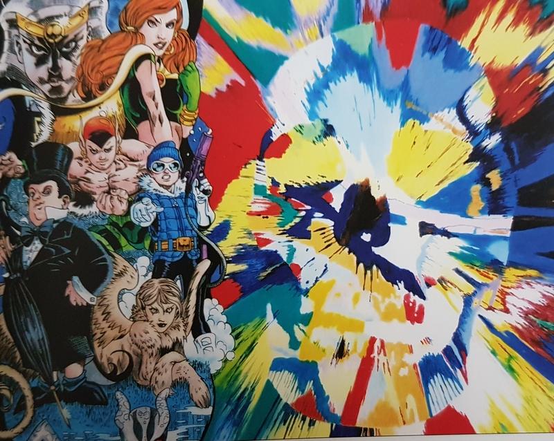 ERRÖ - Painting - Esplosive Image
