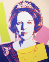 Andy WARHOL - Estampe-Multiple - Queen Beatrix Of The Netherlands II.340