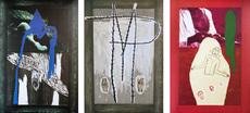 Mimmo PALADINO - Print-Multiple - Set of three mixed media prints (Paladino)