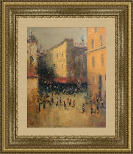 Levan URUSHADZE - Gemälde - Pedestrian street