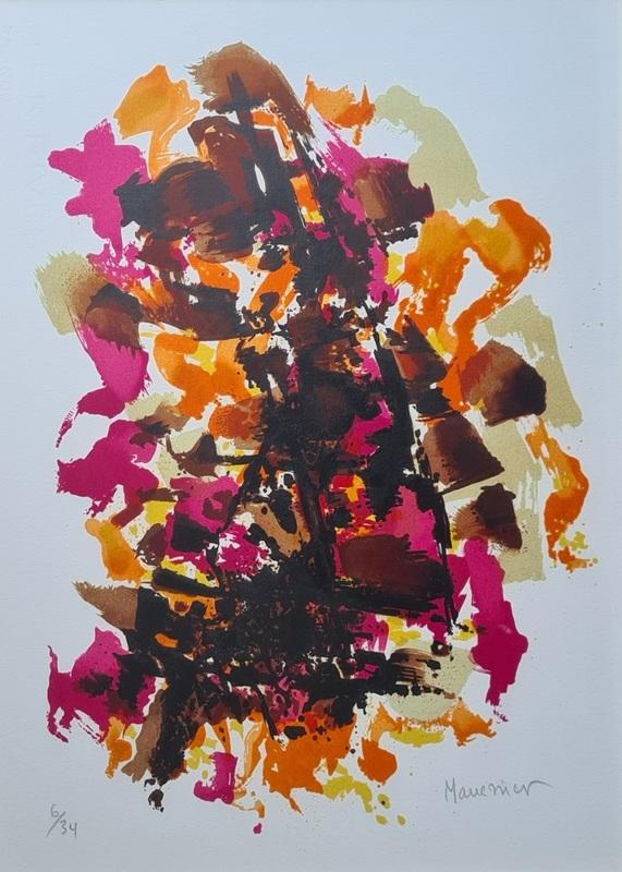 Alfred MANESSIER - Print-Multiple - Sans Titre