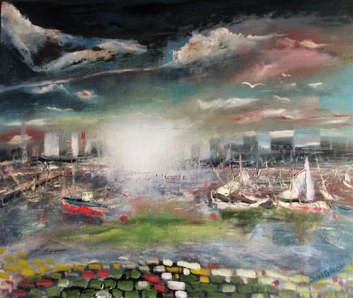Didier DOIGNON - Pintura - Petits bateaux