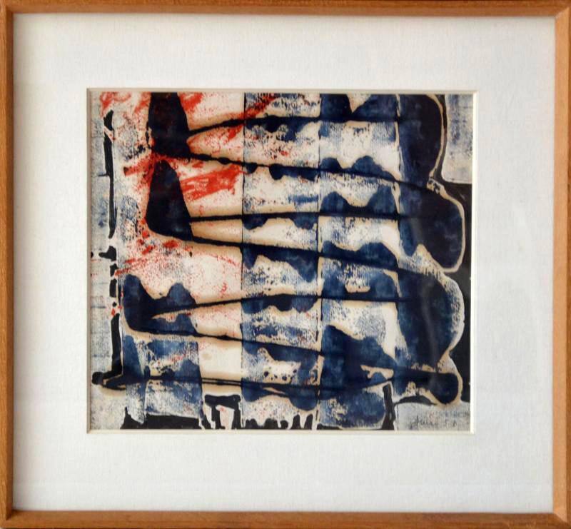 François ARNAL - Peinture - En Dents de Scie