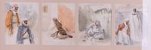 John Singer SARGENT - Dibujo Acuarela - Orientalista