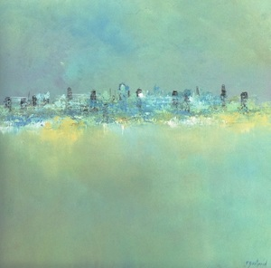 Pascal BOUTERIN - Peinture - la ville
