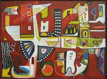 Abol ATIGHETCHI - Gemälde - VOODOO