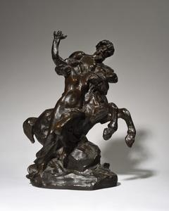 Aimé-Jules DALOU - Escultura - Centaure enlevant une femme